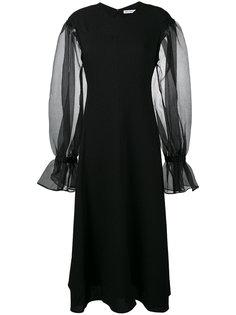 платье Harriet с прозрачными рукавами Rejina Pyo