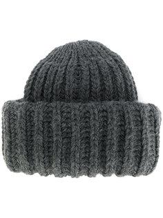 трикотажная шапка в рубчик Federica Moretti