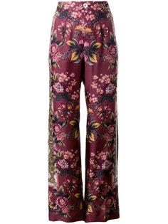 брюки-палаццо с цветочным узором  F.R.S For Restless Sleepers