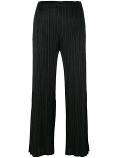 широкие брюки со складками  Pleats Please By Issey Miyake