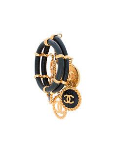браслет с подвесками и логотипом Chanel Vintage