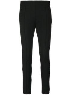 брюки скинни с контрастными полосками  MSGM