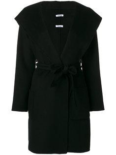 пальто с поясом  P.A.R.O.S.H.