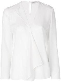 блузка с оборкой  Etro