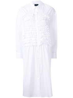 frill detail shirt dress Simone Rocha