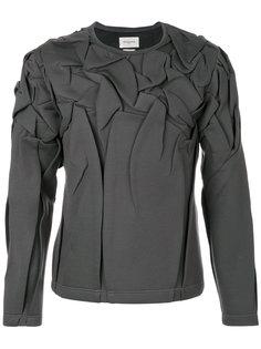 wrinkled sweatshirt  Rochas