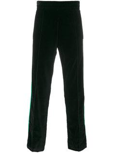 спортивные брюки с контрастными полосками Palm Angels
