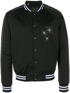 куртка-бомбер с вышивкой Lanvin
