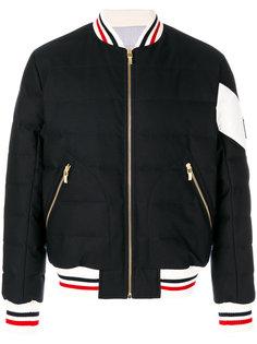 куртка-бомбер на молнии Moncler Gamme Bleu