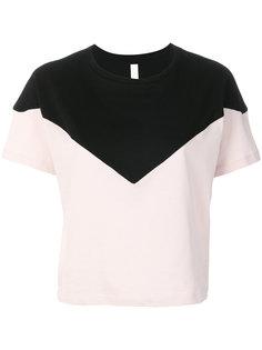 colour block T-shirt Sàpopa