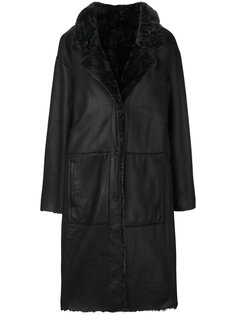 однобортное пальто  Drome