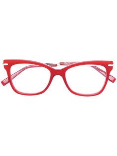 очки в квадратной оправе Max Mara