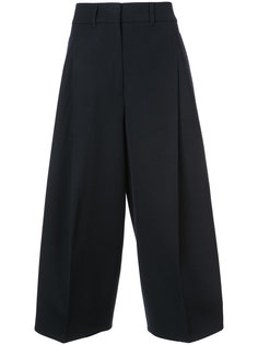 широкие брюки с высокой талией Jil Sander