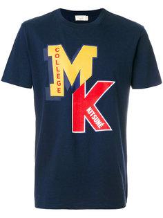 футболка с принтом с логотипом Maison Kitsuné