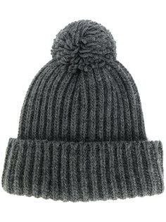шапка ребристой вязки Federica Moretti