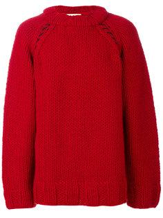 свитер свободного кроя Marni