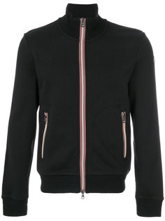 striped trim zip sweatshirt Moncler