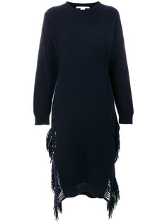 платье с бахромой  Stella McCartney
