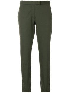 укороченные брюки со складками  Joseph