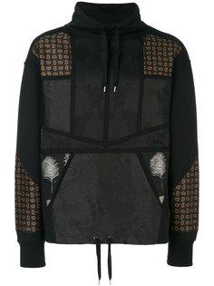 multi print sweatshirt Alexander McQueen