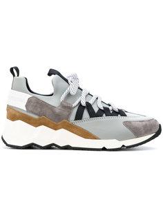 кроссовки с контрастными панелями Pierre Hardy