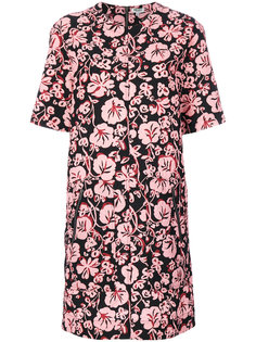 платье шифт с цветочным принтом  Kenzo