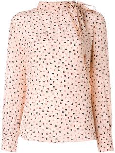 блузка в горошек  Max Mara
