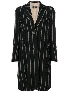 пальто в вертикальную полоску  Uma Wang