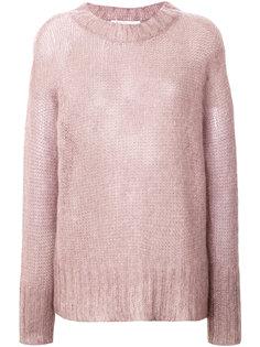 свободный фактурный свитер  Agnona