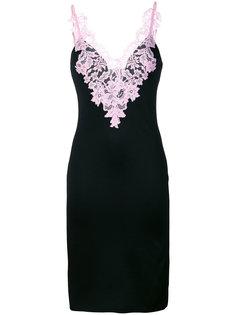 платье миди с кружевной отделкой  Givenchy
