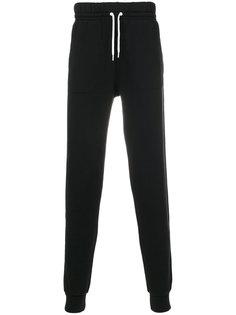 спортивные брюки с вышивкой логотипа Maison Kitsuné