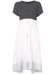 платье с топом в полоску  3.1 Phillip Lim