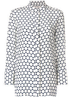 блузка с принтом  Diane Von Furstenberg