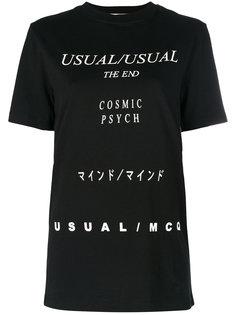 футболка Lyrics McQ Alexander McQueen