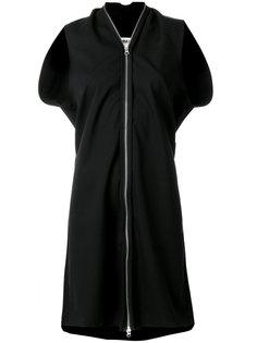 платье с молнией  Mm6 Maison Margiela