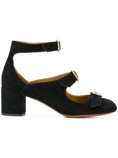 туфли-лодочки с несколькими пряжками Mary-Jane Chloé