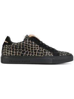кроссовки с блестками Philipp Plein