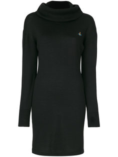 branded roll neck jumper dress Vivienne Westwood Red Label