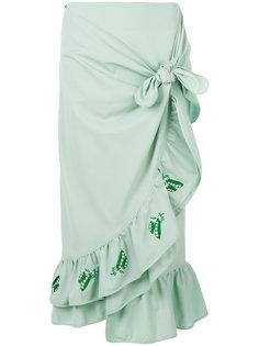 юбка Marsiglia с запахом Vivetta