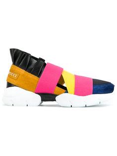 кроссовки с ремешками Emilio Pucci
