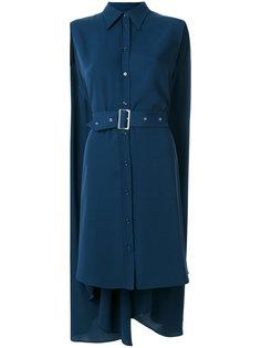 платье-кейп с поясом  Mm6 Maison Margiela