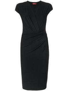 платье с V-образным вырезом  Max Mara
