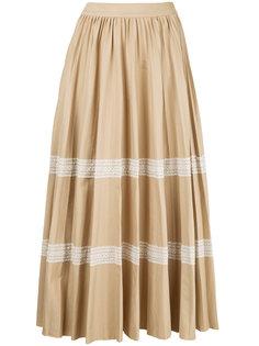 юбка с контрастными полосками Huishan Zhang