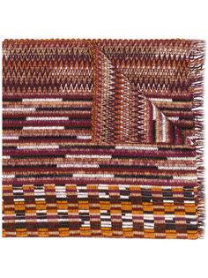 трикотажный шарф Missoni