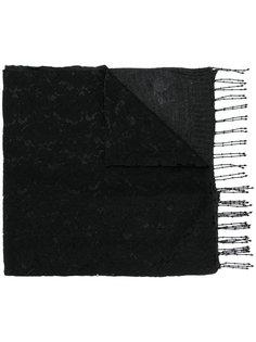 шарф с кружевной отделкой Twin-Set