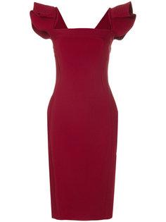 square neck dress Antonio Berardi