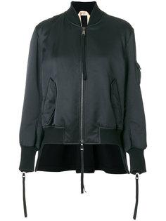 куртка-бомбер на молнии  Nº21