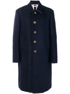 пальто с декоративными пуговицами Thom Browne