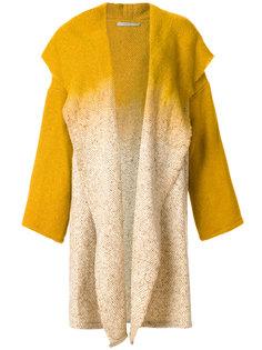 открытое пальто омбре  Dusan