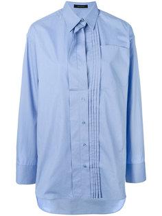 pleated panel shirt Cédric Charlier